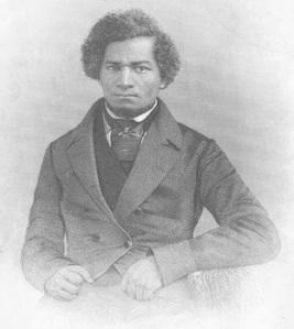 Frederick Douglass as a young man