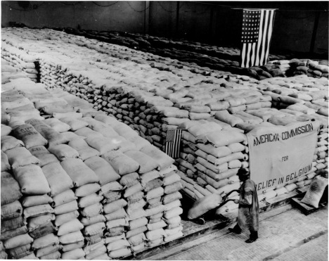 American food relief in Belgium after WWI