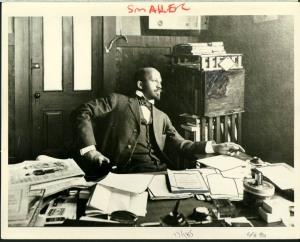 Du Bois at Atlanta University in 1909