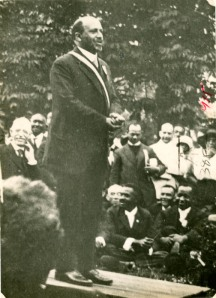 Du Bois Receiving the NAACP Springarn Medal, 1920