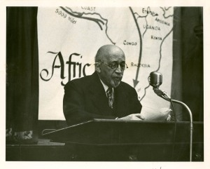Du Bois in the 1950's
