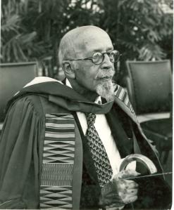 Du Bois Receiving Honorary Degree at Univ. of Ghana