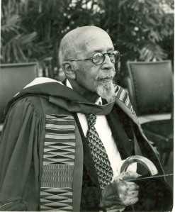 Du Bois Receiving Honorary Degree at Univ. of Ghana