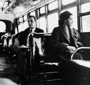 Rosa Parks in 1956