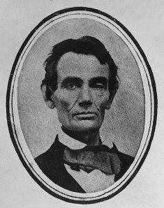 Lincoln in 1858