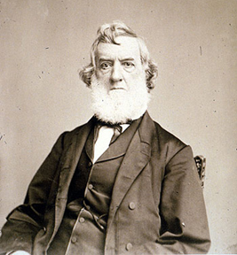 Secretary of the Navy Gideon Welles