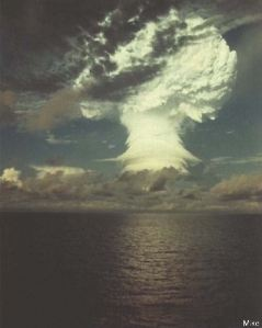 H-Bomb Test at Eniwetok Atoll, Oct. 31, 1952