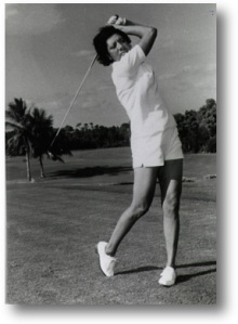 Althea Gibson could drive over 300 yards