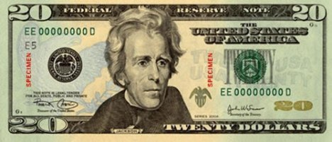 Andrew Jackson as most people know him today