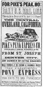 Travel Circular from 1860