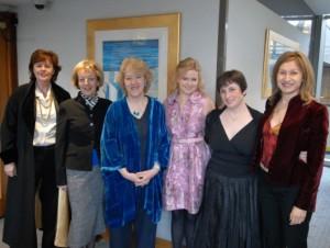 Winner Julia Gregson, Judith Lennox, Linda Gillard, Cecelia Ahern, Susanna Kearsley, Lesley Downer
