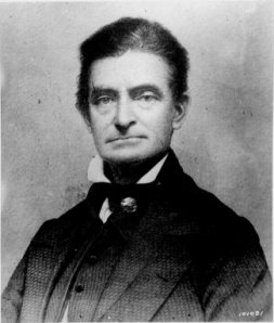 John Brown as a younger man