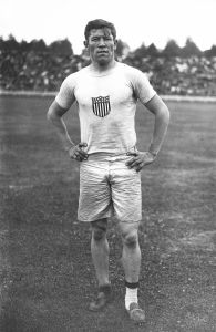 Thorpe at the 1912 Summer Olympics