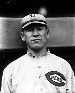 Jim Thorpe during his 1917 stint with the Cincinnati Reds