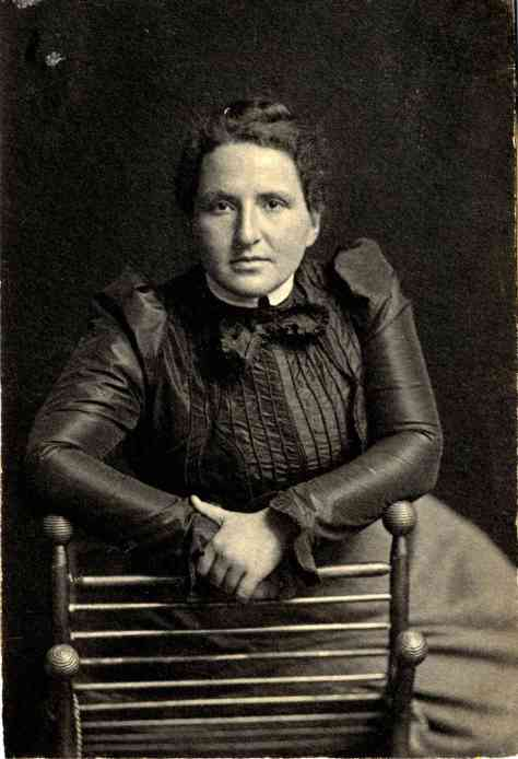 Young Gertrude Stein