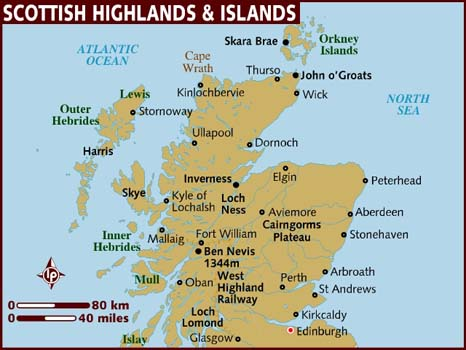 Scottish island names