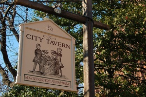 City Tavern today, still going strong