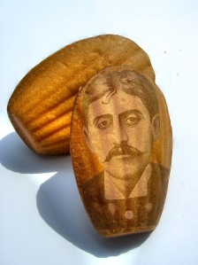 Image of Proust on a madeleine