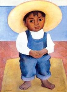 Retrato del nino Ignacio Sanchez, 1927