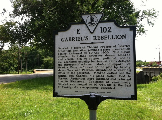 Historical Marker E102 in Henrico County, VA
