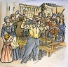 Luddites – In 1811 protestors in a labor dispute broke up machinery to make their point.  While they were not anti-machine but rather what we might today call pro-union, the term has come to mean one who fears technology, or at least new new technology.