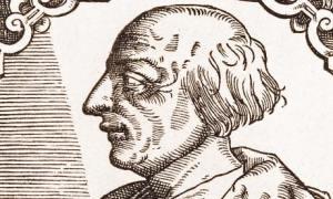Engraving of Poggio Bracciolini - prime mover, or one of many?