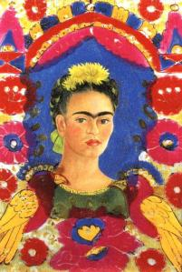 Self-Portrait by Frida Kahlo, circa 1937-1938