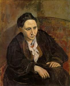 Picasso's 1906 portrait of Gertrude Stein