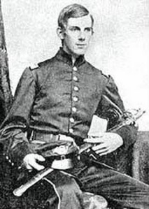 Oliver Wendell Holmes Jr. before his career on the bench, as an officer in the Union Army's 20th Massachusetts Voluntary Infantry