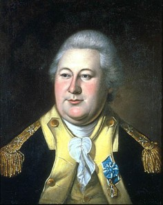 The amazing Henry Knox, as pictured by Charles Willson Peale in 1784