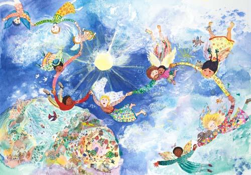 Flying to heaven Med