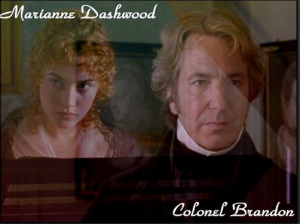 From one of the many wonderful screen adaptations of Sense and Sensibility