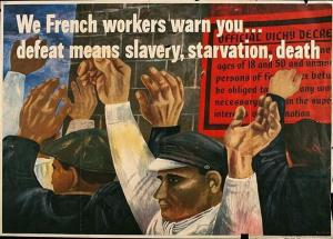 1942 U.S. war poster; artist Ben Shahn