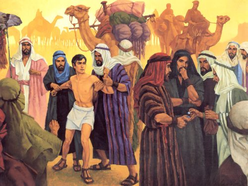 Joseph Sold to Egypt Joseph Being Sold Into Egypt