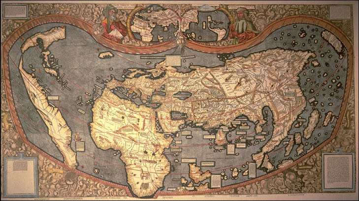Map Of The World Before Columbus.Kid Lit Review Of Christopher Columbus And The Age Of Exploration