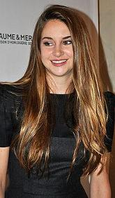 Talented Shailene Woodley plays Tris in the movie Divergent