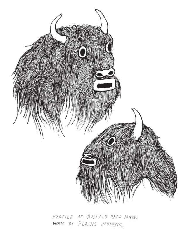 """Buffalo Heads, Frohawk Two Feathers"" by Umar Rashid"