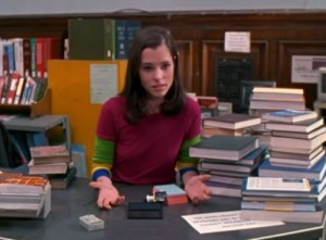 Parker Posey struggles with her library job in Party Girl