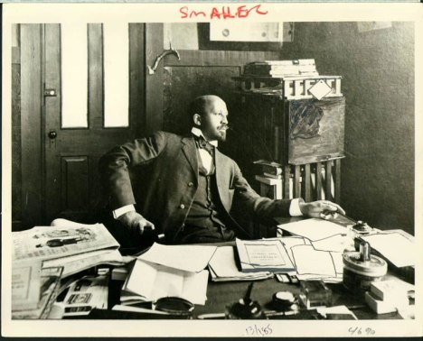 Du Bois at Atlanta University in 1909