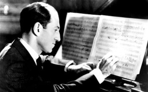 George Gershwin at work