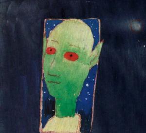 "Douglas Florian includes a ""self-portrait"" on the book jacket"