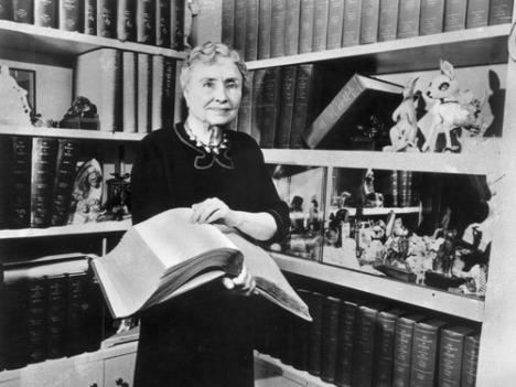Helen Keller, 1956