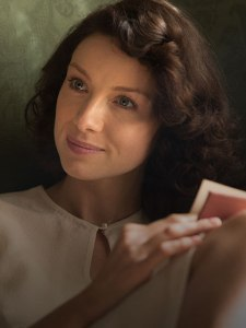 Claire, to be played on the STARZ series by Caitriona Balfe