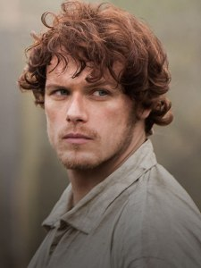Jamie, to be played on the STARZ series by Sam Heughan