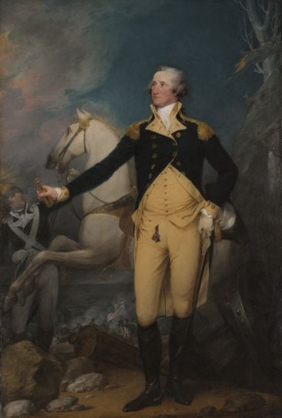 General George Washington at Trenton by John Trumbull, 1792