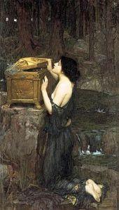 Pandora by John William Waterhouse, 1896