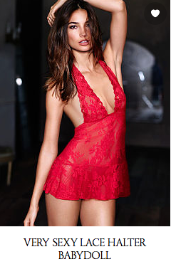 From Victoria's Secret website