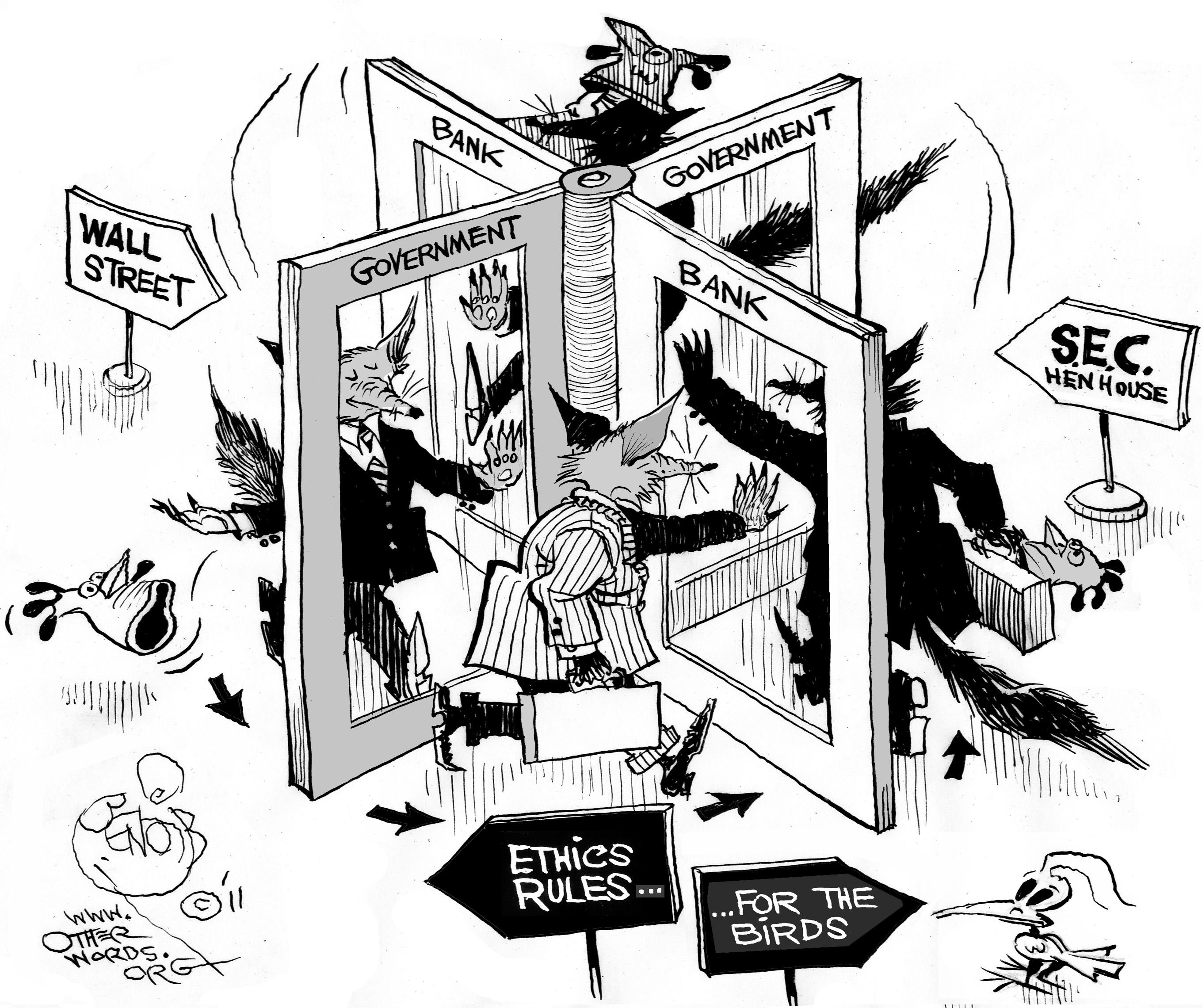 Sec-revolving-door-cartoon