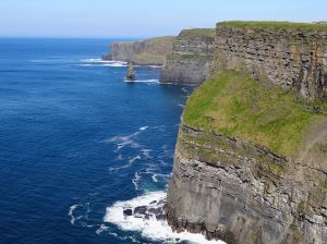 Cliffs of Moher in the Aran Islands