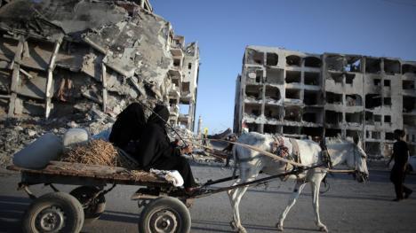 Northern Gaza Strip, Monday, Aug. 11, 2014